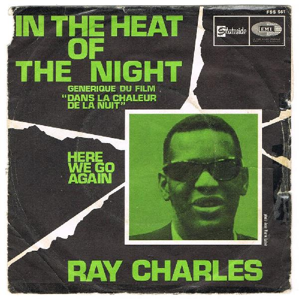 Ray charles -45t- in the heat of the night france biem 1968