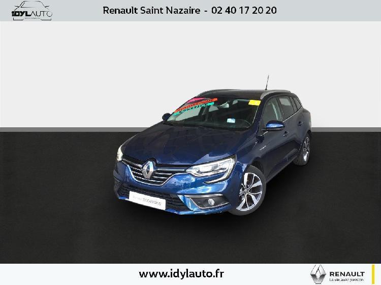 Renault megane 4 estate essence saint-nazaire 44   15300