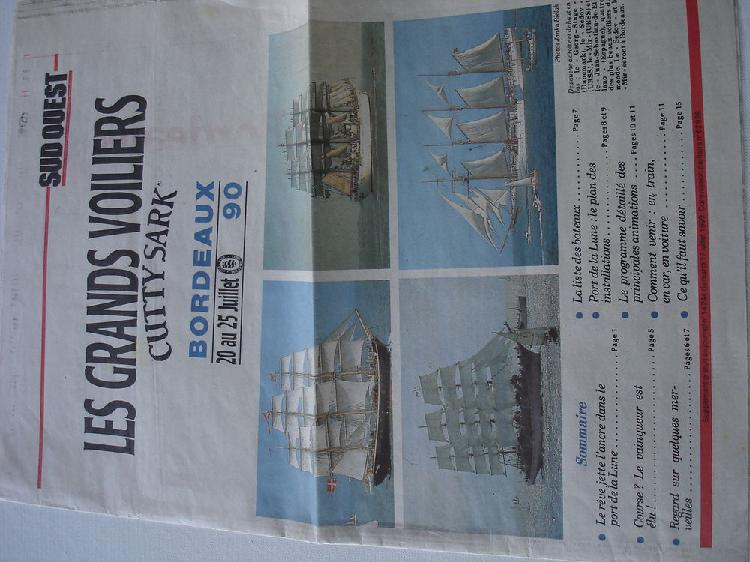 Sud ouest supplement au journal n14244 cutty sark occasion,