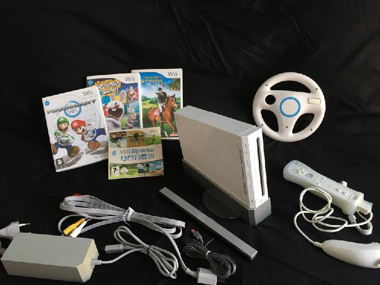 Wii +4 jeux neuf, vence (06140)