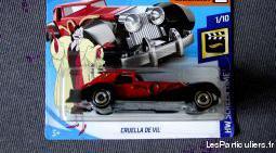 Hot wheels voiture cruella devil 101 dalmatiens