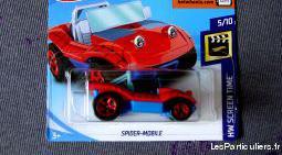 Hot wheels voiture spider mobile spider man