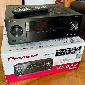 Pioneer vsx-923-k 7.2 par canaux 150 w 3d et arc ultra hd