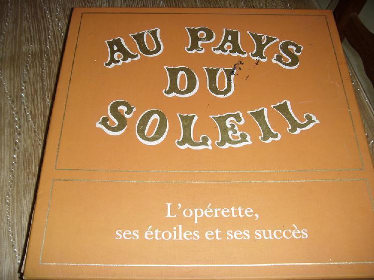 Coffret disques operettes neuf, wattignies (59139)