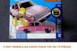 Hot wheels voiture plymouth junkerolla simpsons