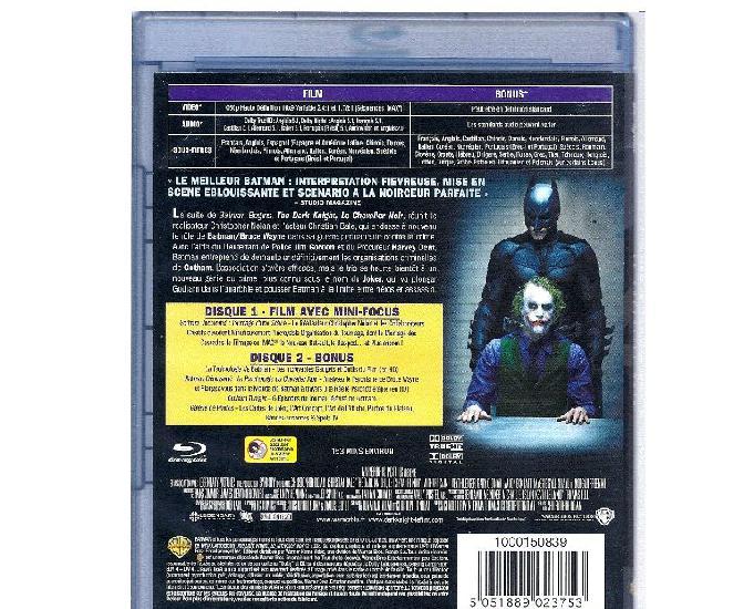 blu-ray film the dark knight batman en blu-ray