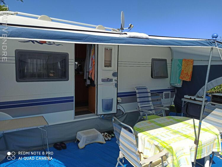 Caravane hobby 460 ufe de luxe easy