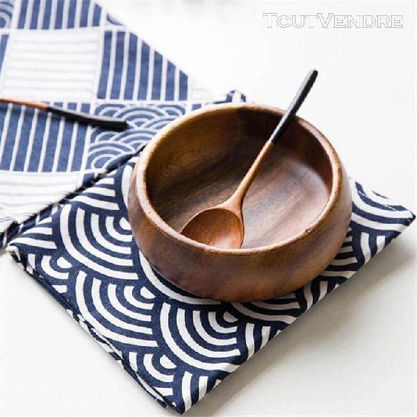 Coton lin fond de maison tissu table serviette décoration