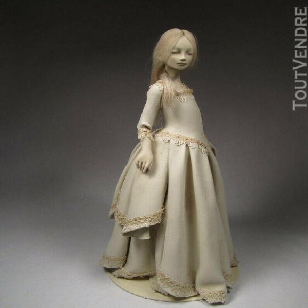 Doll artist, ooak doll, doll, paper clay doll, artist doll