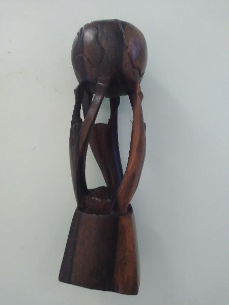 ebony wooden carved trophy