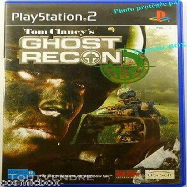 ghost recon tom clancy's jeu video pour console sony playsta