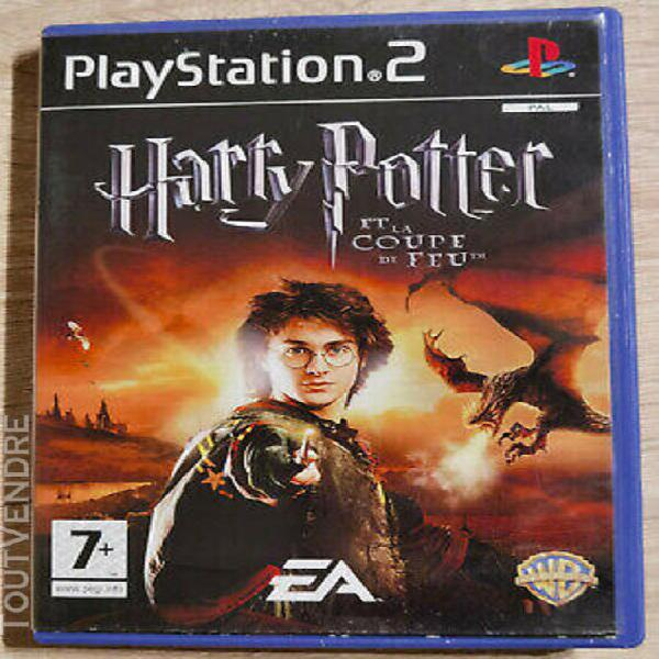 Harry potter et la coupe de feu playstation 2 ps2
