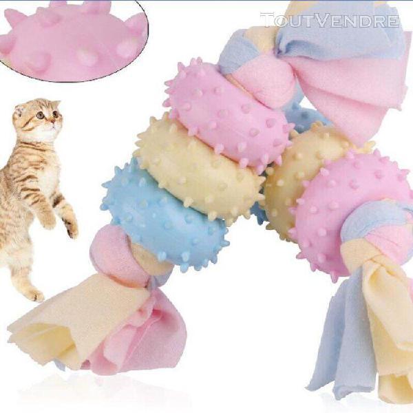 Jouet de formation de dentition pour chien jouet de morsure
