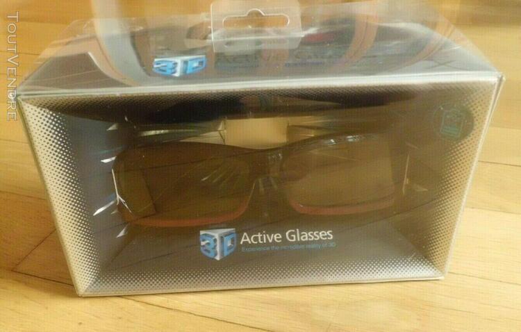 Lunettes 3d active glasses samsung - ssg-2200ar neuves en bo