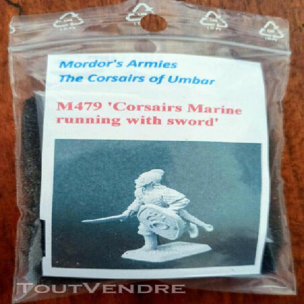 Mithril m479 ~ corsairs marine w. sword ii ~ lotr sda seigne
