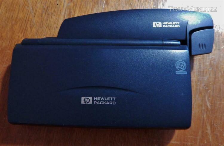 Old computer collector palmtop pc hewlett packard hp 360lx