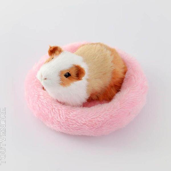 Petit nid d'animaux en velours lit chaud en coton pour anima