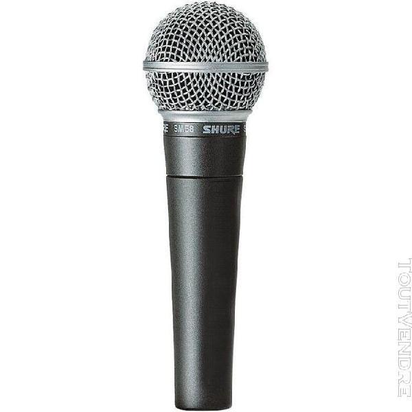 Shure sm58 - micro voix dynamique cardioïde