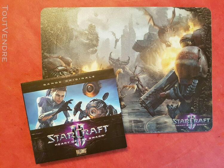 Starcraft 2 heart of the swarm collector edition: mousepad +