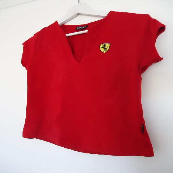T-shirt ferrari femme taille 3 occasion, angers (49100)