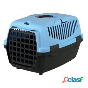 Cage de transport capri pour chien et chat - small bleu