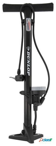 Dunlop pompe à vélo sur pied avec manomètre de 11 bar dunlop