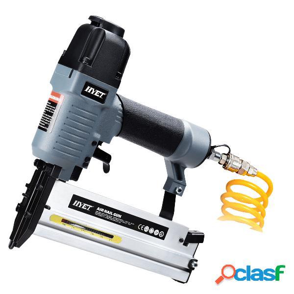 2en1 agrafeuse/cloueuse à air comprimé pneumatique convient pour clou 10-50mm avec mallette et accessoires
