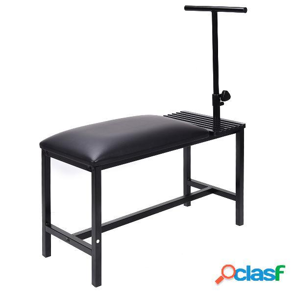 Costway table à dessin et tabouret 2 en 1 hauteur réglable noir