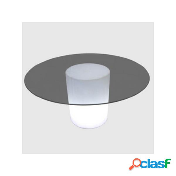 """table lumineuse ronde arthur"""