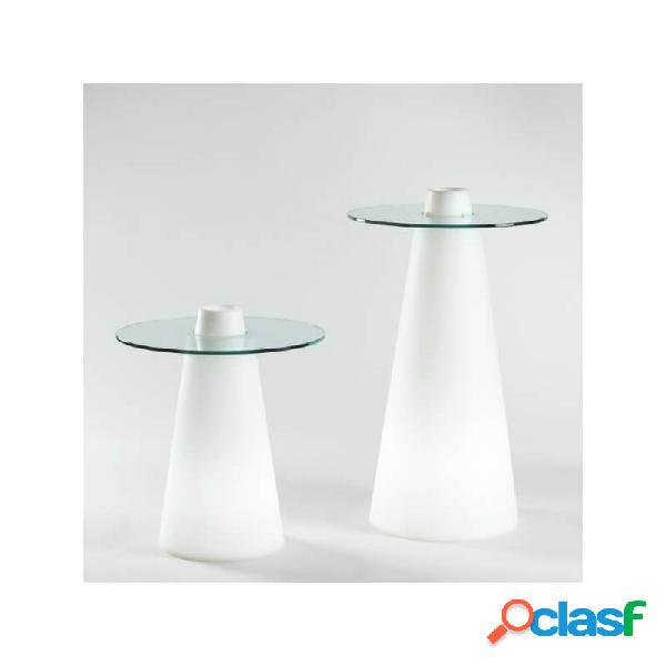 """""""table lumineuse ronde peak"""""""