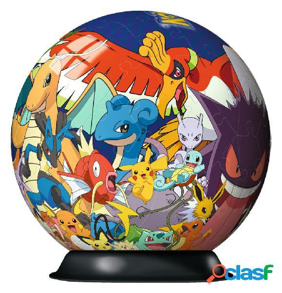Puzzle ball 3d - pokemon ravensburger