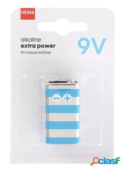 Hema pile alcaline 9v extra power