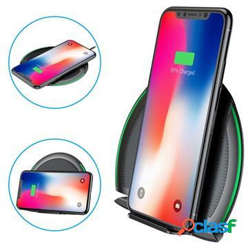 Chargeur sans fil baseus foldable multifunctional - 10w - noir
