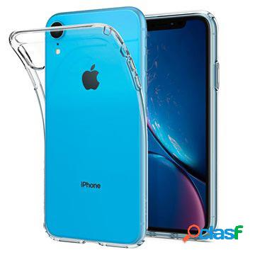 Coque iphone xr spigen liquid crystal - transparente