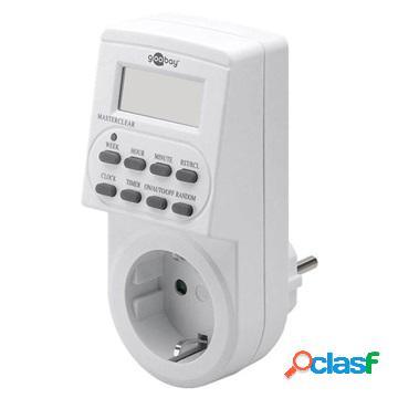 Minuteur Numérique pour Appareils Électriques Goobay 55543 - Blanc
