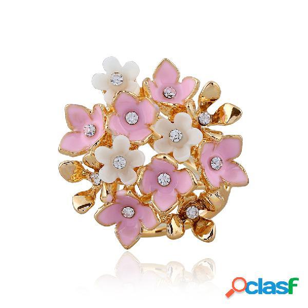Accessoires de vêtements utiles foulard boucle de fleur de mode meilleur cadeau de bijoux pour elle