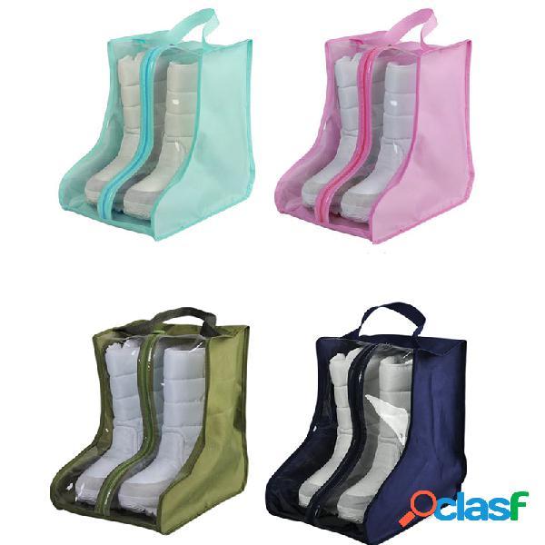 Sac à chaussures étanche en tissu oxford contenant des chaussures anti-poussière