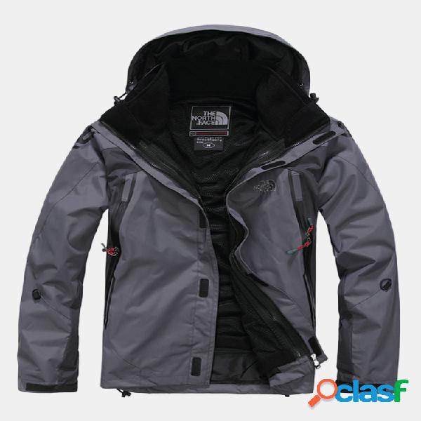 Veste de survêtement imperméable camping softshell veste trekking manteau homme