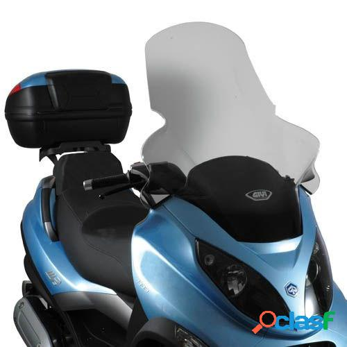 Givi bulle surélevé transparent st, moto et scooter, d501st