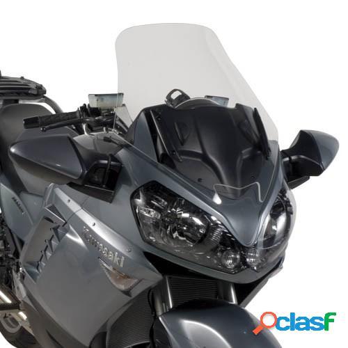 Givi bulle surélevé transparent st, moto et scooter, d407st