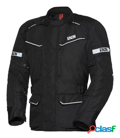 Ixs evans st lady, veste moto textile femmes, noir