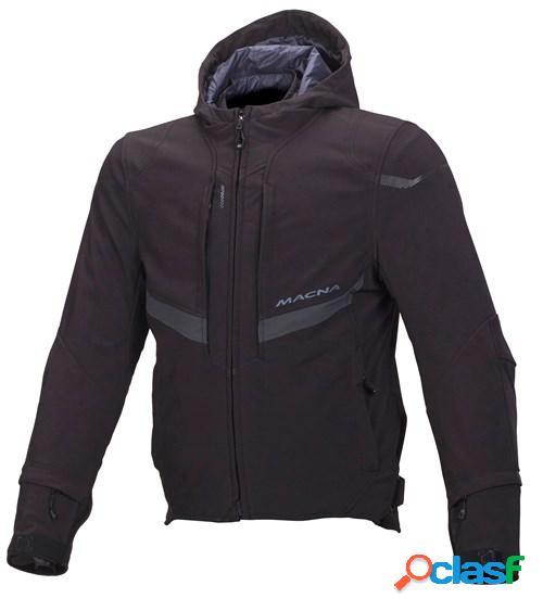 Macna habitat, veste moto textile hommes, noir