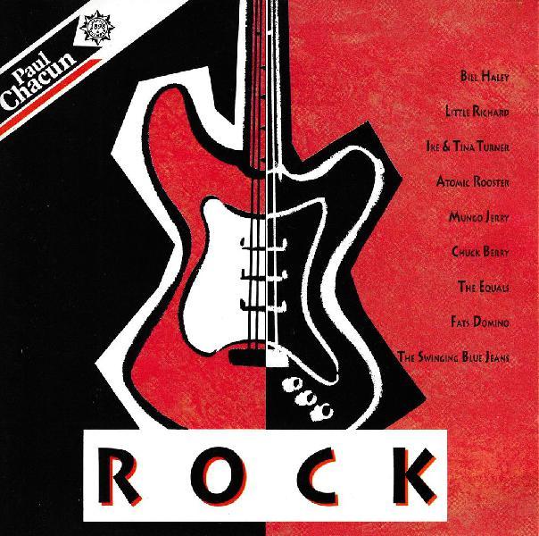 Cd rock - objet publicitaire paul chacun compilation
