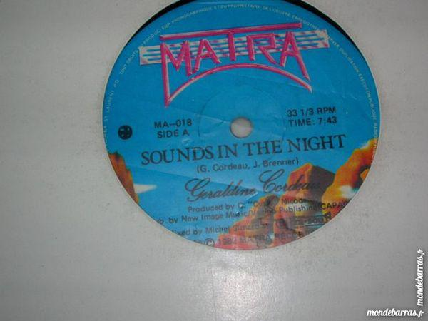 Maxi 45 tours geraldine cordeau sounds in the night