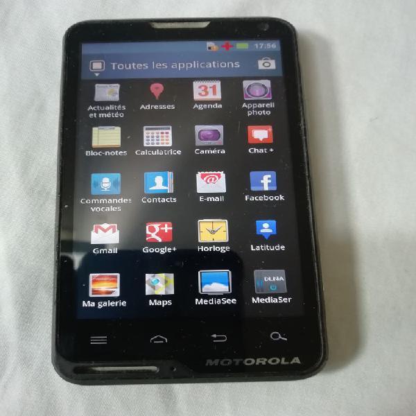 Motorola xt615 débloquer neuf/revente, nanterre (92000)