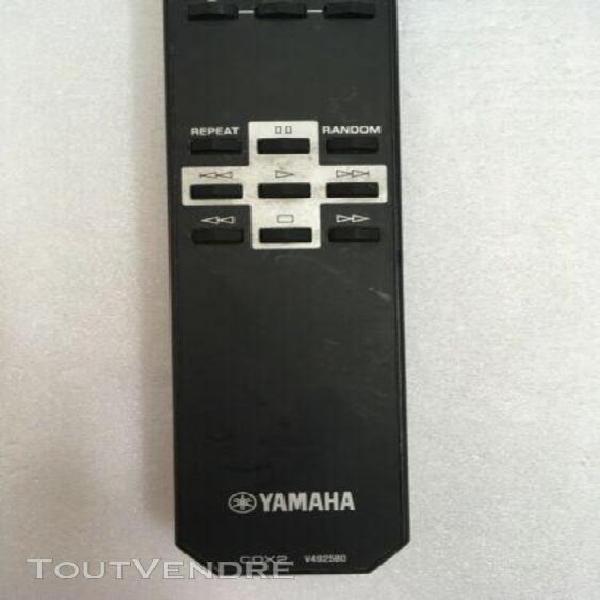 Télécommande yamaha cdx2 v492580 remote control