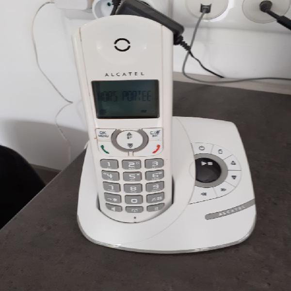 Téléphone sans fil alcatel neuf, riscle (32400)