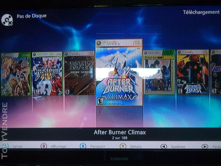Xbox 360 s trinity complete - mod rgh - 250go