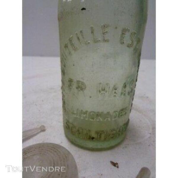 Bouteille limonade schiltigheim burette huile machine / s171