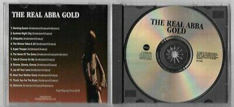 Cd abba the real abba gold tb voir pour le port